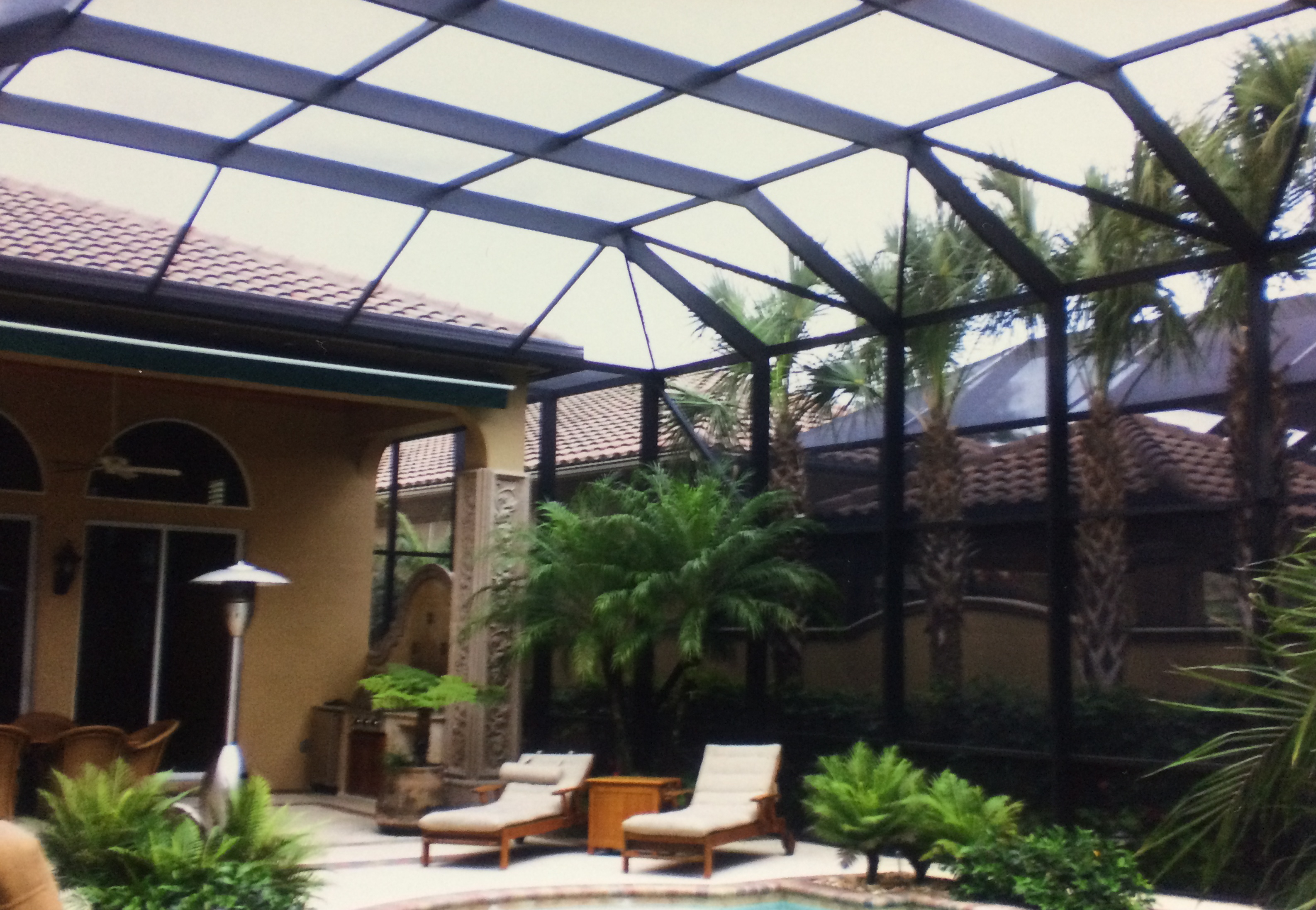 Screen Enclosure Custom Panoramic View Cape Coraltopla Inc