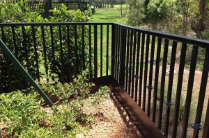 Critter Railing Protection