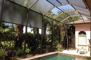 Custom Florida Glass Screen