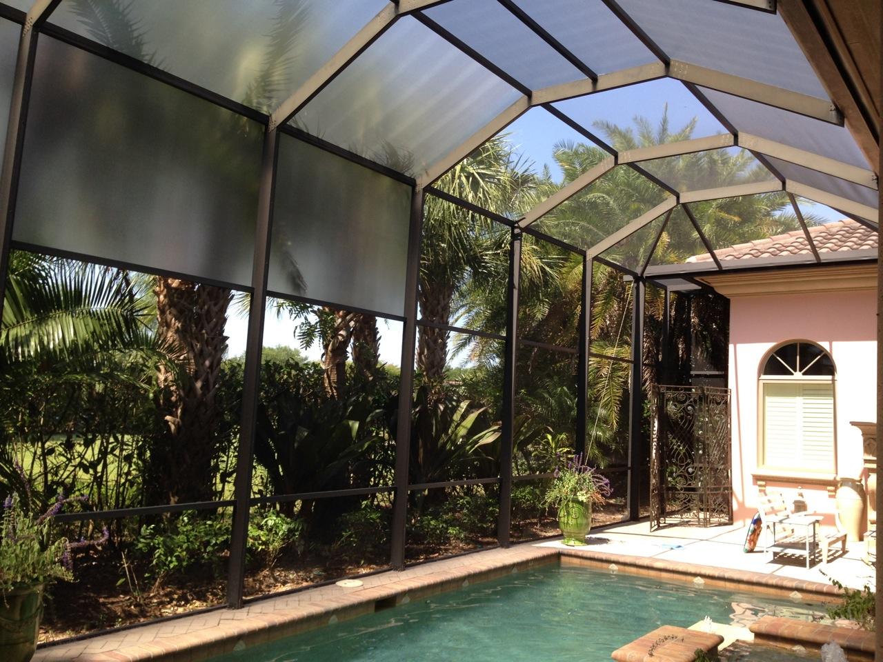 Custom Florida Glass Screen Naples Ft Myers Cape Coral